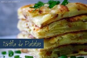 Receita de Tortilla de Batatas