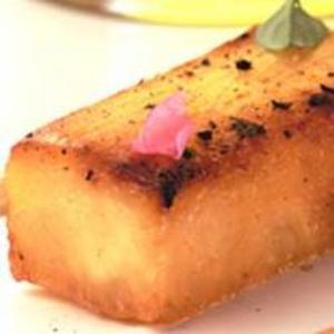 Receita de Abacaxi grelhado com caramelo