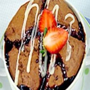 Receita de Afogado de chocolate