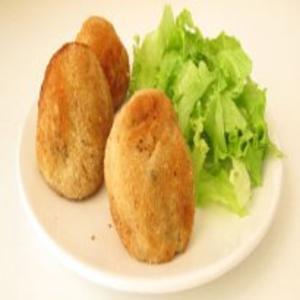 Receita de Almondegas de bacalhau com batata doce