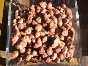Receita de Amendoim de Festa (Cartucho)