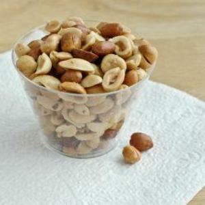 Receita de Amendoins salgadinhos