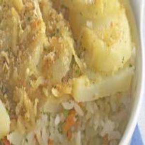 Receita de Arroz com Vôngole e Batata