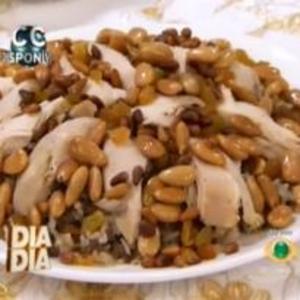 Receita de Arroz Marroquino com frango