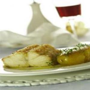 Receita de Bacalhau assado com batatas ao murro