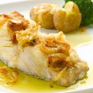 Receita de Bacalhau com Grão de Bico e Batata