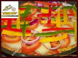 Receita de Bacalhau Multicolorido