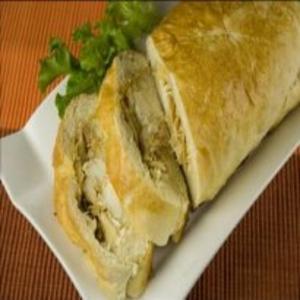 Receita de Baguete de Frango com Requeijão Cremoso