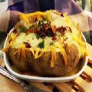 Receita de Baked Potato (Batatas Assadas)