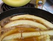 Bananas com calda de uísque