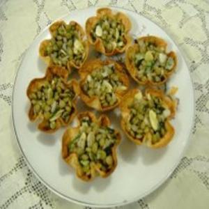 Receita de Barquete de Ervilhas e Lentilhas