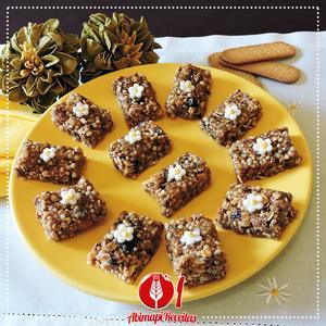Receita de Barrinhas de Cereais e Biscoito