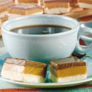 Receita de Barrinhas de doce de leite condensado e chocolate