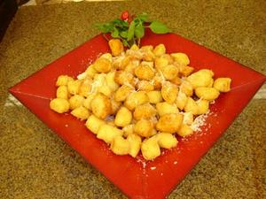 Receita de Batatas Puff