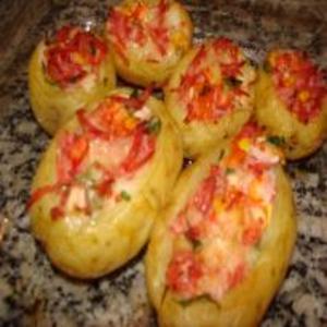 Receita de Batatas Recheadas com Frios