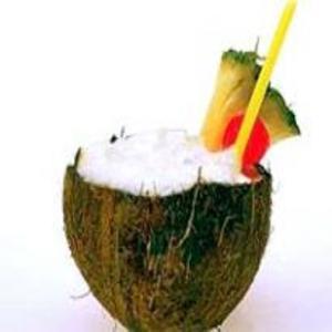 Receita de Batida de coco