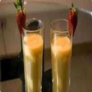 Receita de Batida de Iogurte, Laranja e Cenoura