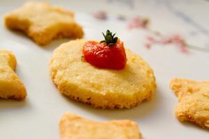 Receita de Biscoito Amanteigado de Gorgonzola