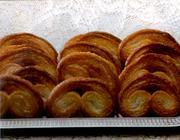 Biscoito de Massa Folhada (palmier)