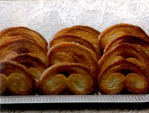 Receita de Biscoito de Massa Folhada (palmier)