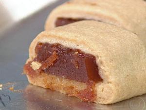 Receita de Biscoito Enroladinho de Goiaba