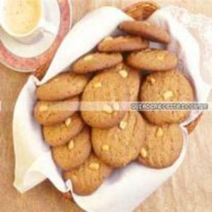 Receita de Biscoitos amanteigados com amendoim