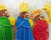 Biscoitos Amanteigados Reis Magos
