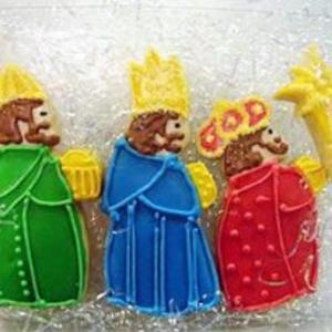Receita de Biscoitos Amanteigados Reis Magos