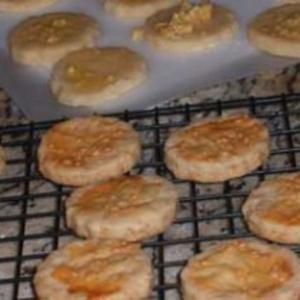Receita de Biscoitos salgados de parmesão