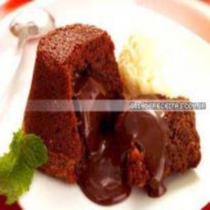 Receita de Bolinho cremoso de chocolate