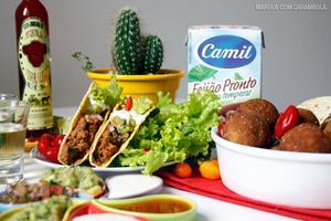 Receita de Bolinho Mexicano