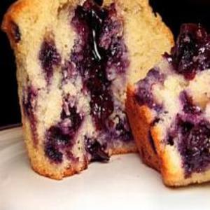 Receita de Bolinhos Deliciosos de Blueberry