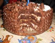 Bolo Comemorativo de Chocolate