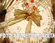 Bolo confeitado para Casamento e/ou Aniversário
