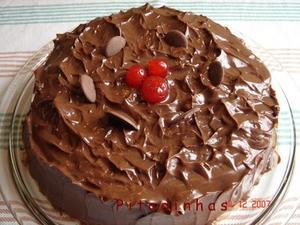 Receita de Bolo Cremoso de Chocolate