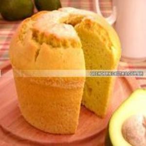 Receita de Bolo de abacate