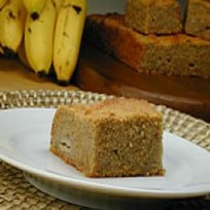 Receita de Bolo de Banana com Farinha de Mandioca