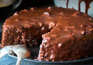 Receita de Bolo de Café com Biscoito de Chocolate