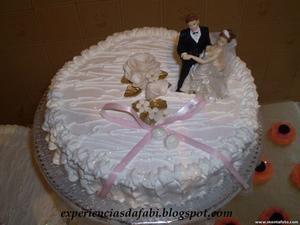 Receita de Bolo de Casamento ou Aniversário