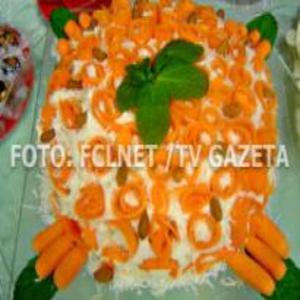 Receita de Bolo de cenoura sem glúten
