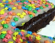 Bolo de Chocolate com Bicho-de-Pé