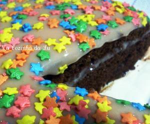 Receita de Bolo de Chocolate com Bicho-de-Pé