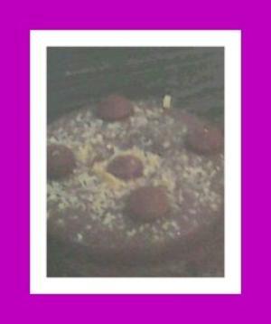 Receita de Bolo de Chocolate com Bombons