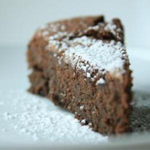 Receita de Bolo de chocolate com massa de grão de bico