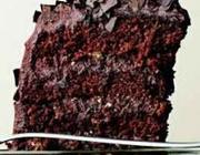 Bolo de Chocolate com Recheio e Cobertura de Mousse
