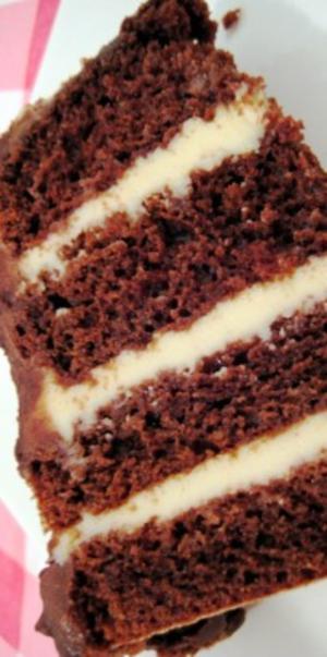 Receita de Bolo de Chocolate com Recheio Trufado de Maracujá
