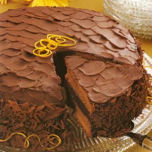 Receita de Bolo de Chocolate e Laranja