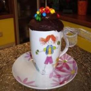 Receita de Bolo de chocolate na caneca - para microondas