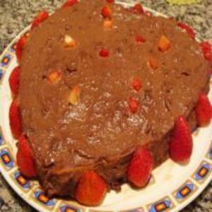 Receita de Bolo de Chocolate Recheado Diet