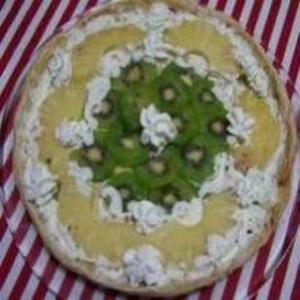 Receita de Bolo de kiwi e ananás